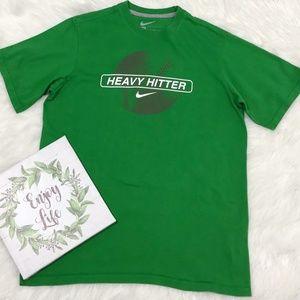 Nike Baseball Shirt Boys XL Green